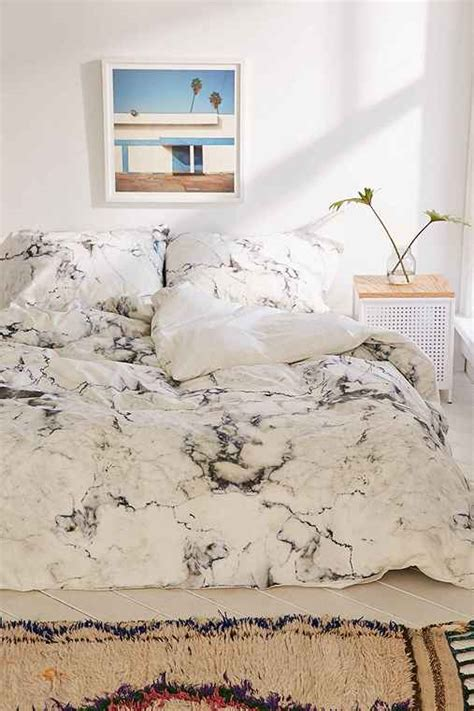 marble bed sheets assembly home marble duvet cover urban outfitters