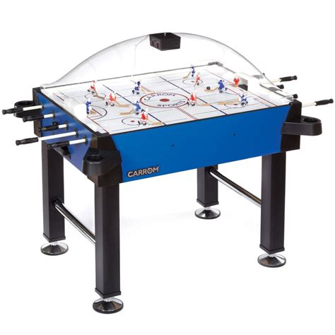 carrom signature stick rod hockey table w legs table hockey shop