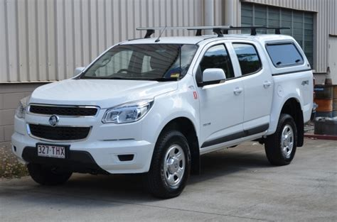 holden colorado with canopy holden colorado crew cab 4x4 hire it today from vista hire