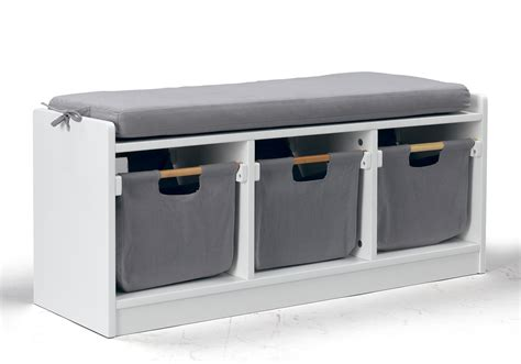 kids storage bench wonkawoo 4409wh deluxe children s storage bench white