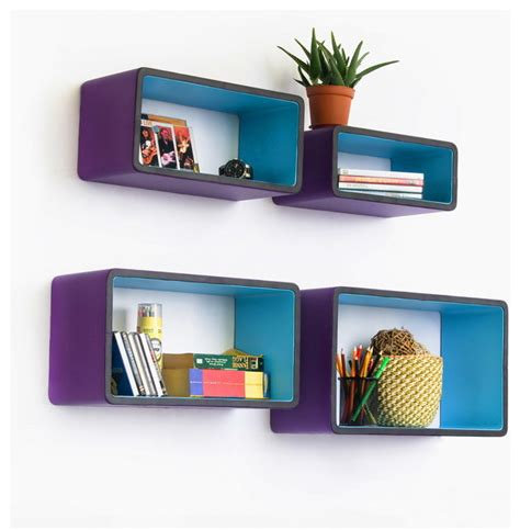 rectangle wall shelf lavender love rectangle leather wall shelf floating