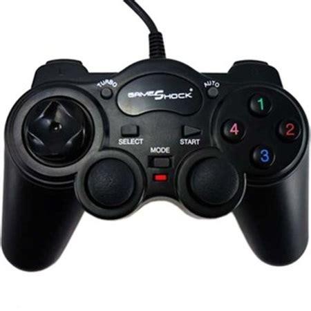 Mediatech Gamepad Single Analog Transparan 1 gameshock gamepad single getar simpel dan ringan
