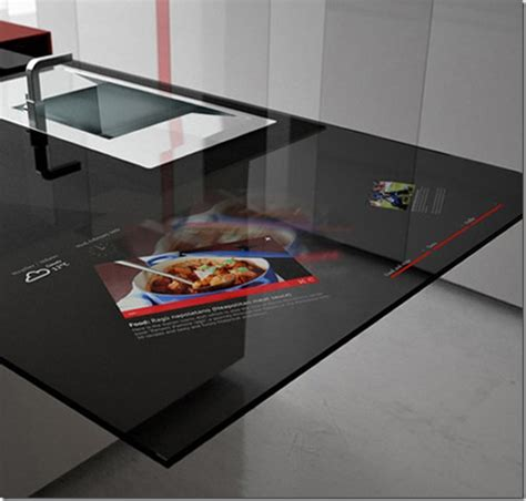 smart countertop 187 smart kitchen of future future technology