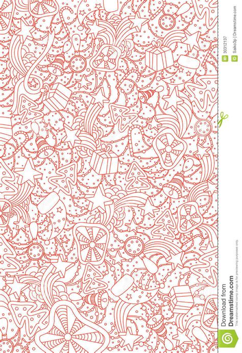 background design doodle christmas doodle background royalty free stock photography