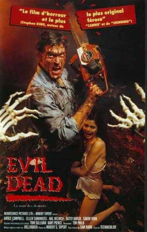 evil dead film list best horror movie list