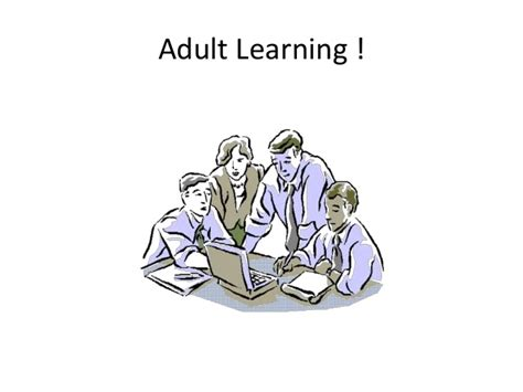 Andragogy Learning Theory Mba by Learning Theory