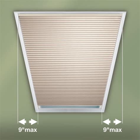 Trapezoid Window Blinds trapezoid window covering contemporary cellular shades