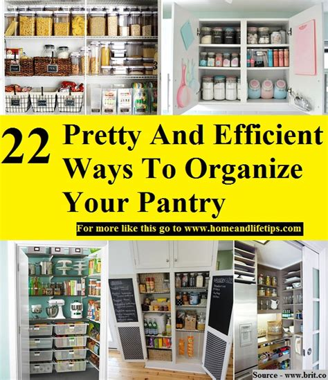 22 pretty ways to organize your pantry brit co 22 pretty and efficient ways to organize your pantry