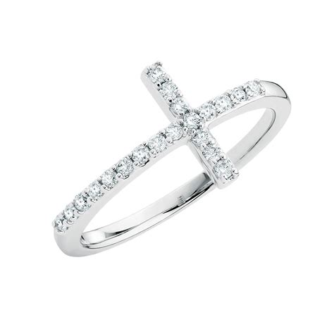 ring with 0 20 carat tw of diamonds in sterling silver