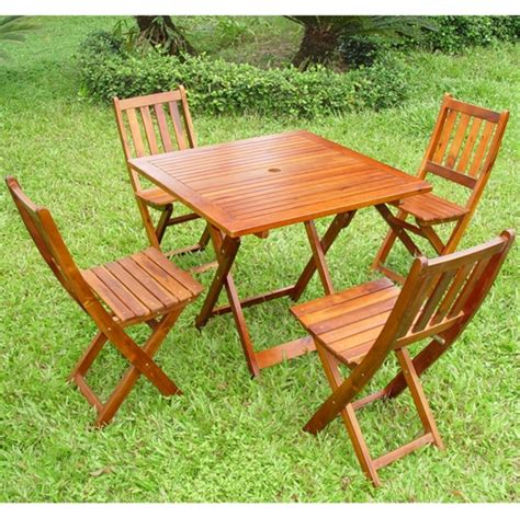 The Process Of Adorning Your Garden With Wooden Garden Wooden Patio Furniture Sets