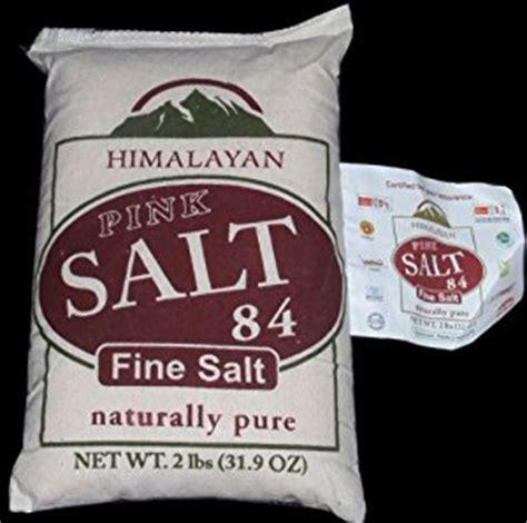 himalayan pink salt l amazon amazon com himalayan pink salt with 84 minerals 2 lb