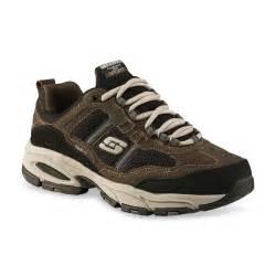 skechers s trait wide athletic shoe brown black