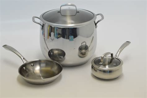 belgique stainless cookware