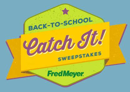Back To School Sweepstakes - fred meyer back to school sweepstakes enter for a chance to win 100 freddie s gift