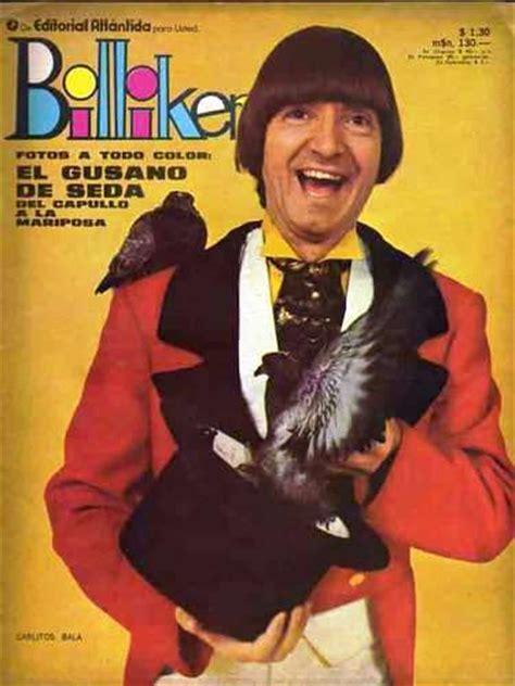 billiken no hay el show de carlitos bala billiken y una tapa historica 1971