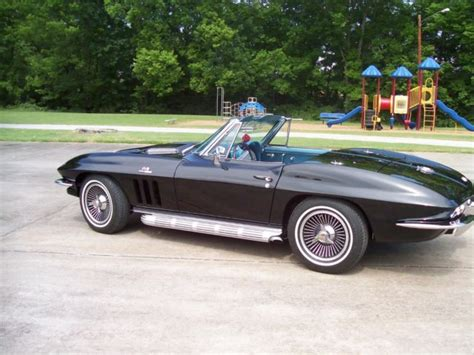1965 corvette colors 1965 l 78 big block corvette color black bright