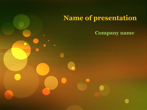 free fall powerpoint templates free powerpoint template autumn image collections