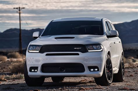 jeep durango 2018 2018 dodge durango srt pricing announced automobile magazine