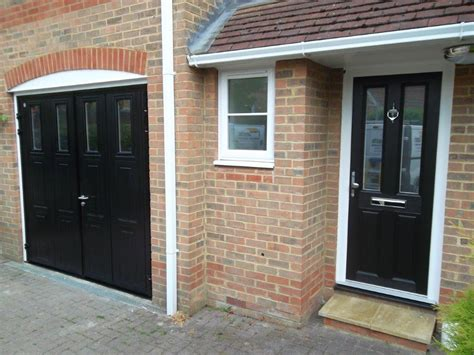 Insulating Garage Door Sides by Carteck Side Hinged Insulated Camberley Doormatic Garage