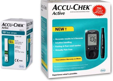 accu chek active glucometer price in india buy accu chek active glucometer at flipkart