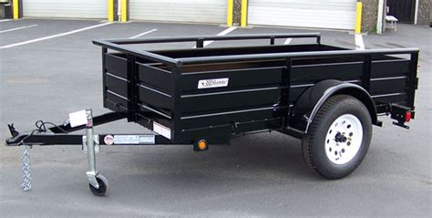flat bed trailer rental trailer utility m and m rental