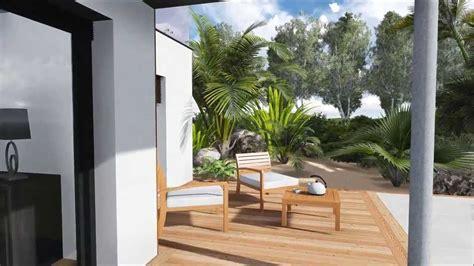 Home Design 3d Jardin Plan De Jardin 3d Plan De Terrasse Et Piscine De Luxe