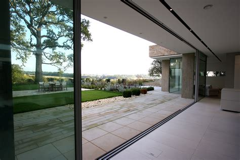 Modern Patio Door Flush Floor Finish Archives Minimal Windows Sliding Glass Doors By Iq Glass