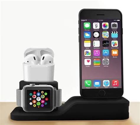 charging dock  iphone apple   airpods