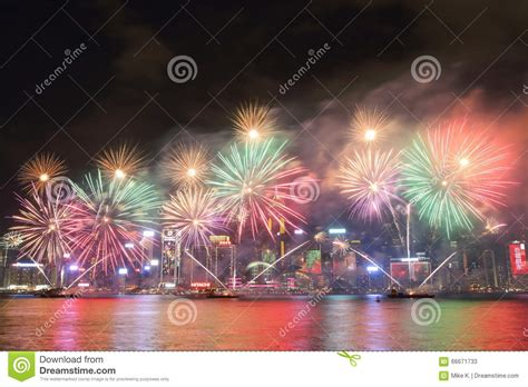 new year fireworks hong kong time hong kong new year fireworks display 2016