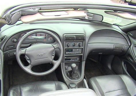 2000 mustang gt interior zinc yellow 2000 ford mustang gt feature