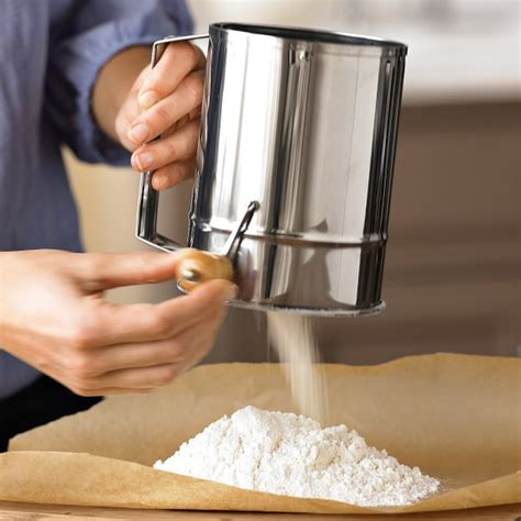 Flour Sifter traditional flour sifter williams sonoma