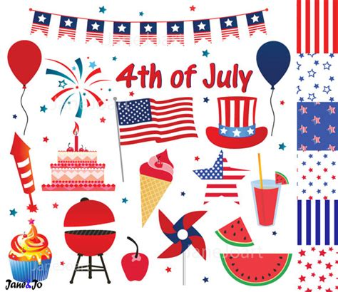 happy 4th of july birthday clip art 4th of july clipart fourth of july clip art independence
