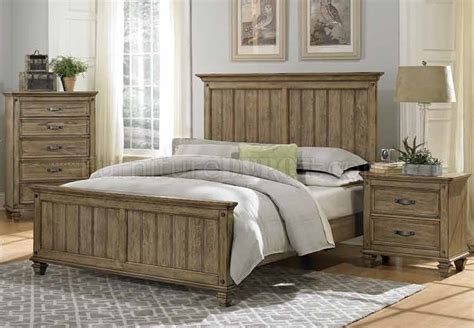 Driftwood Bedroom Furniture by Sylvania Bedroom 2298 In Driftwood By Homelegance W Options