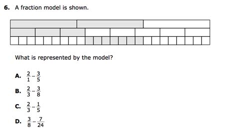 bench mark meaning fraction performance assessments 3rd grade 1000 images