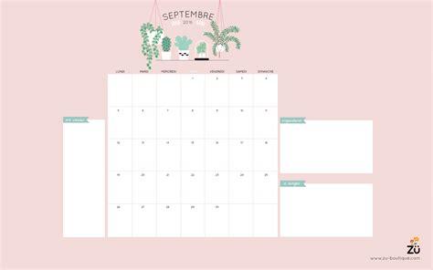Calendrier Septembre 2016 Septembre 2017 Le Calendrier Diy Septembre 2016 Z 252 Le