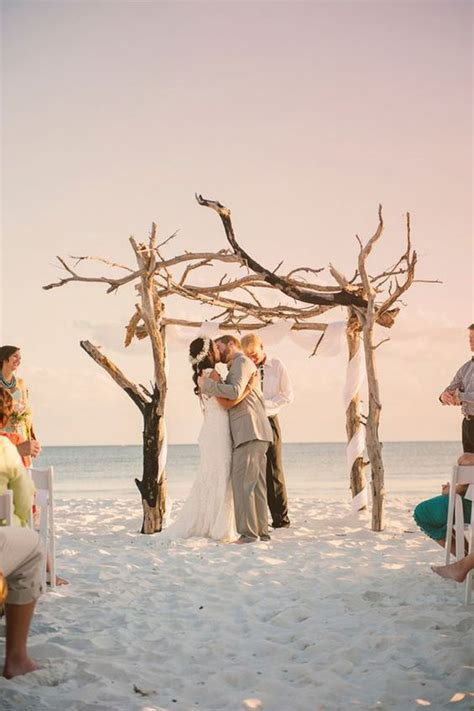 36 Wood Wedding Arches, Arbors And Altars   Weddingomania