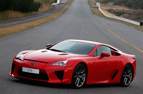 Stunning Red Lexus Lfa Photos Toyota Lexus Forum