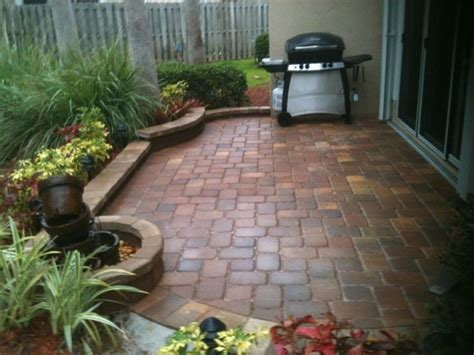 Patio Ideas Pavers Small Paver Patio Designs Fres Hoom