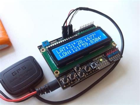 code arduino gps gps receiver for arduino model a sku tel0083 a