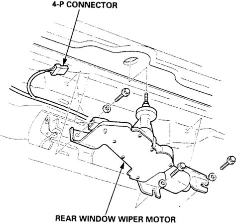 repair windshield wipe control 2000 honda accord parking system repair guides windshield wipers and washers windshield wiper motor autozone com