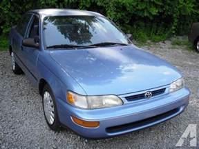 Toyota Corolla 1996 For Sale 1996 Toyota Corolla For Sale In Pittsburgh Pennsylvania