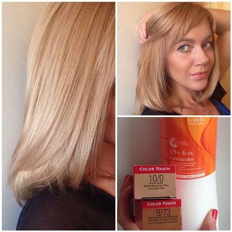 strawberry blonde color formula well ct 9 73 10 wella illumina pinterest blondes