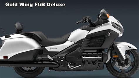 Honda F6b Review by Look 2017 Honda Gold Wing F6b Deluxe