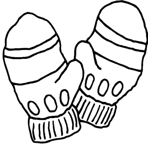 mitten coloring page how to draw mittens coloring pages how to draw mittens