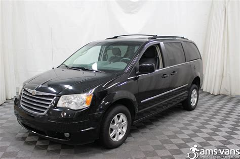 used chrysler vans 2009 chrysler town and country wheelchair for sale