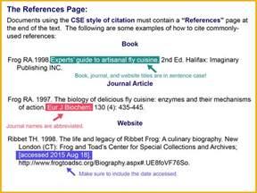 cse 8th edition citation style guide libguides at