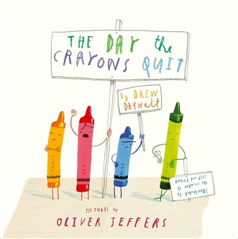 the day the crayons 0007513763 the day the crayons quit harper collins australia