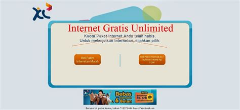 cara internet gratis xl internet gratis xl cara internet unlimited tanpa batas