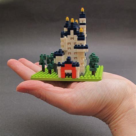 Lego Nano Keyboard nanoblock micro sized building blocks review the gadgeteer