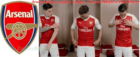 arsenal players salary arsenal players salary update current highest paid